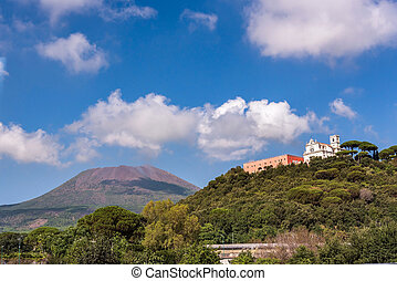 View of Missionari Redentoristi Colle Sant alfonso and Mount...