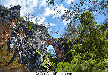 Carlotta Arch Jenolan Caves Blue Mountains New South Wales...