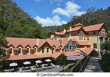 Jenolan Caves House Blue Mountains New South Wales Australia...