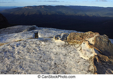 Landscape of the Grose Valley from Lincoln Rock Lookout at...