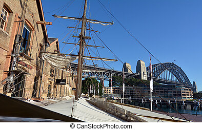 Campbell's Stores at the Rocks in Sydney, Australia.Built in...