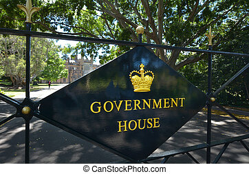 The Government House in Sydney Australia - The Government...