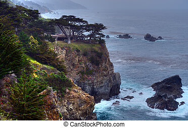 Big Sur California Public Picnic Area - Pacific Ocean Big...