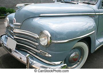 fronte, anticaglia, vista, Automobile