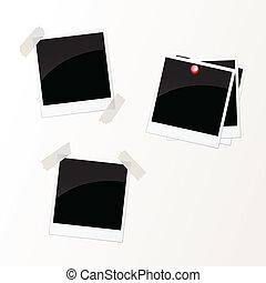 Photos - vector illustration of photos