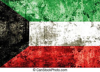 Grunge Kuwait Flag