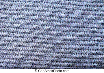 abstract texture of soft knitted fabric with a pattern