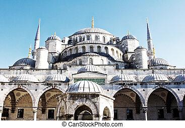 Suleymaniye Mosque,Istanbul - Turkey - Suleymaniye Mosque,...