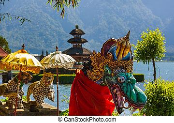 Ulun Danu Temple - Bali Island Indonesia - Pura Ulun Danu...