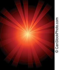 Abstract Sunburst Background - Abstract sunburst background...