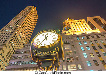 NEW YORK - OCTOBER 23, 2015. The Trump Tower on Fifth Avenue...