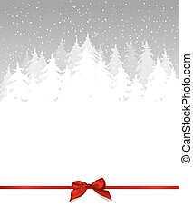 Gray Winter background