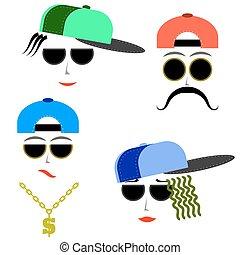 Hip Hop Boys Faces