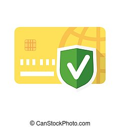 secure payment sign - Secure payment sign, credit card...
