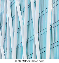 Abstract architectural background - Abstract fragment of...