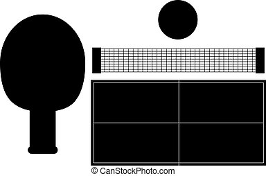 Ping Pong Silhouettes
