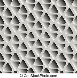 Geometrical seamless pattern. Vector illustration in black...