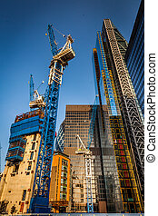 Building skyscapers in London - Picture of skyscrapers...