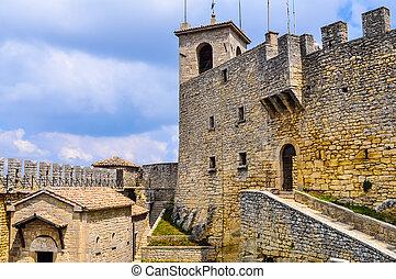 HDR Rocca Guaita San Marino - High dynamic range (HDR) Rocca...