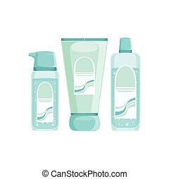 Set Of Specialized Dermatological Skincare Cosmetics Line...