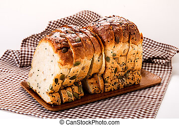 Multigrain bread. - Multigrain bread, full with cereal for...