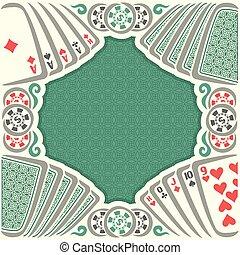 Vector poster holdem Poker - Vector logo holdem Poker:...