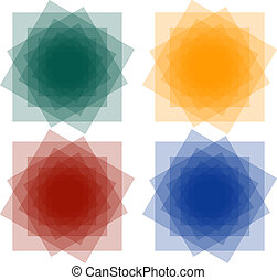 Set of Abstract Squares1