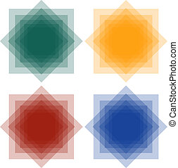 Set of Abstract Squares 2