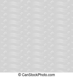 Marine seamless pattern with waves.