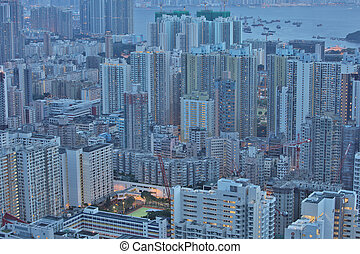 the Hong Kong residential building