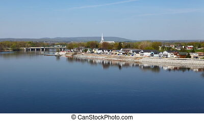 The Gatineau shores in Quebec, Canada - The Gatineau shores,...