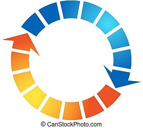 Air Conditioning Design - Air conditioning design arrow...