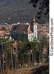 Black Church, Brasov landmark in Romania