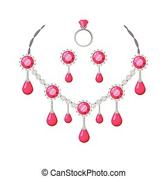 Beautiful Jewelry Accessories Set - Beautiful jewelry...