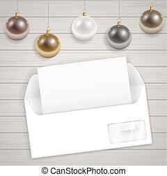 Congratulatory Christmas envelope - New congratulatory...