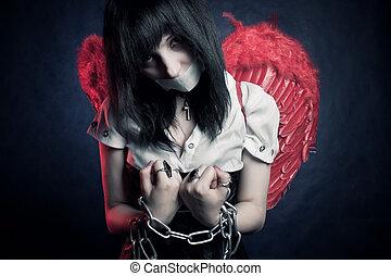 Angel prisoner