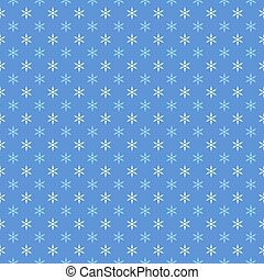 Vector Background with Small Snowflakes.