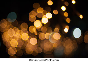 yellow street lights for background