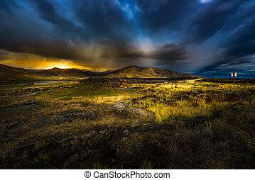 Goodale's Cutoff Castle Rocks Scenic Viewpoint Highway 20...