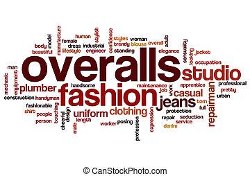 Overalls word cloud