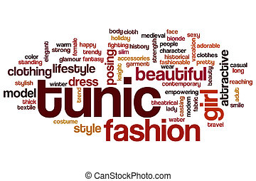 Tunic word cloud concept