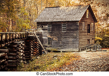 Fall in Great Smoky Mountains National Park - Historic...