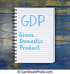 GDP (Gross Domestic Product) concept - GDP (Gross Domestic...
