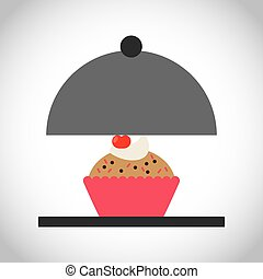 bakery food menu icon vector illustration design