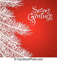 Seasons Greetings Text - Text of Season's Greetings with...