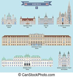 Famous Places in Austria: Karlskirche - Vienna, Eggenberg...