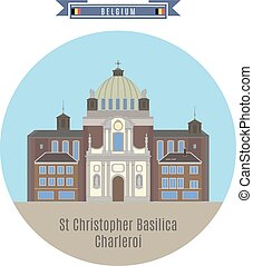 St.Christopher Basilica, Charleroi, Belgium - Famous Places...