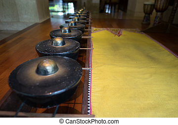 Traditional Sino Kadazan Gong - Tradition gong or drum used...