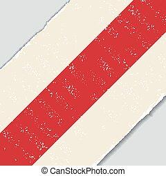 Belarus grunge flag. Vector illustration. - Belarus grunge...