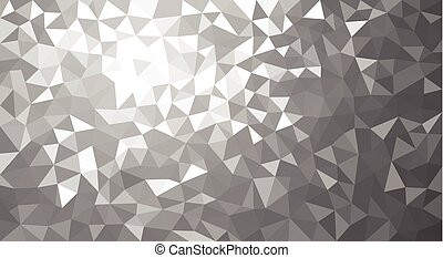 Gray geometric texture abstract background. - Geometric...